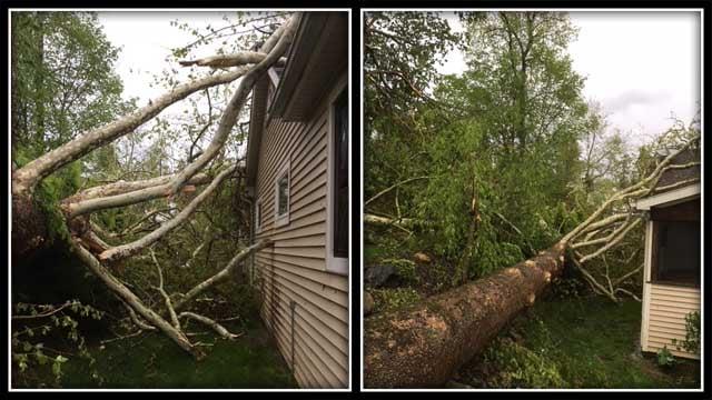 Severe damage was seen throughout Brookfield (Eric Bosco-Schmidt)