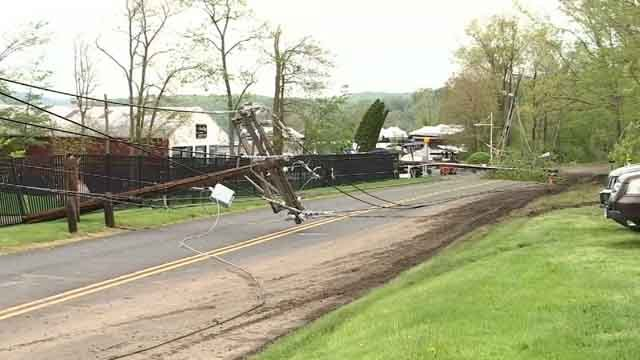 Eversource: Brookfield saw heavy storm damage