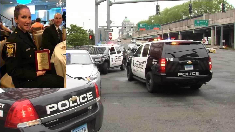 Hartford police officer Jill Kidik was identified as the victim of Thursday's stabbing. (Hartford police/WFSB)