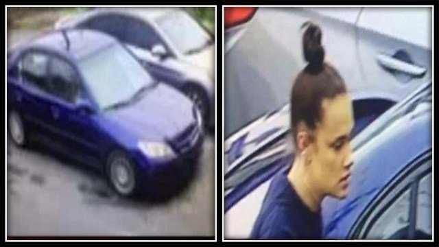 State Police are searching for this vehicle and woman who may have been involved in a hit and run crash (State Police Troop C)