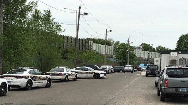 New Haven Police are on the scene of a shooting that left a man in critical condition (WFSB)