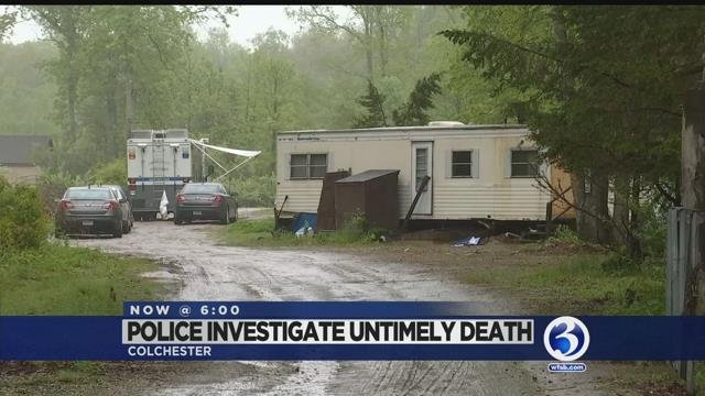 Police respond to body found in Colchester on Friday