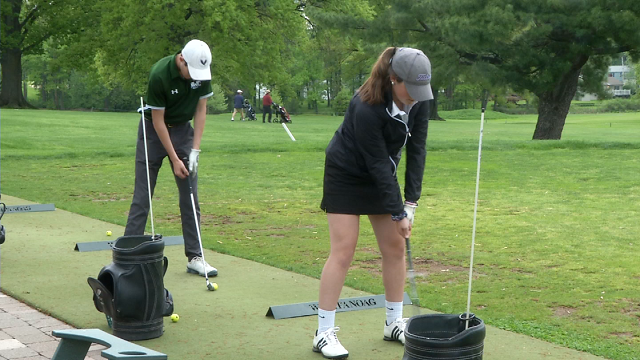 Catholic school student golfers achieve hole-in-one goal (WFSB)