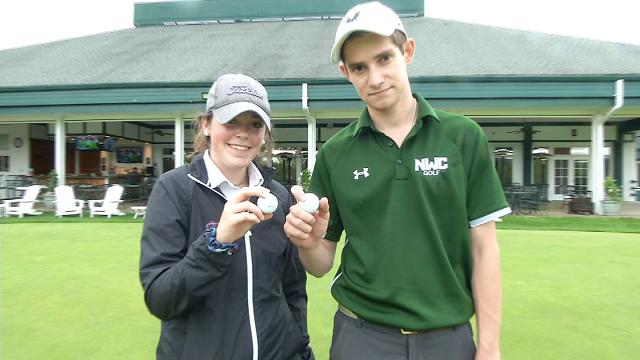 Catholic school student golfers achieve hole-in-one goal (WFSB)