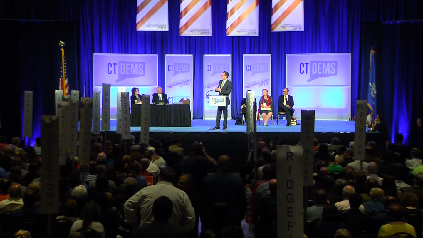 The CT Democratic Convention was held over the weekend in Hartford (WFSB)