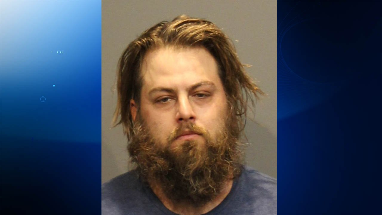 Joseph Michael Stotz was arrested after a 14-hour standoff with troopers and police in Southbury on Monday. (State police)