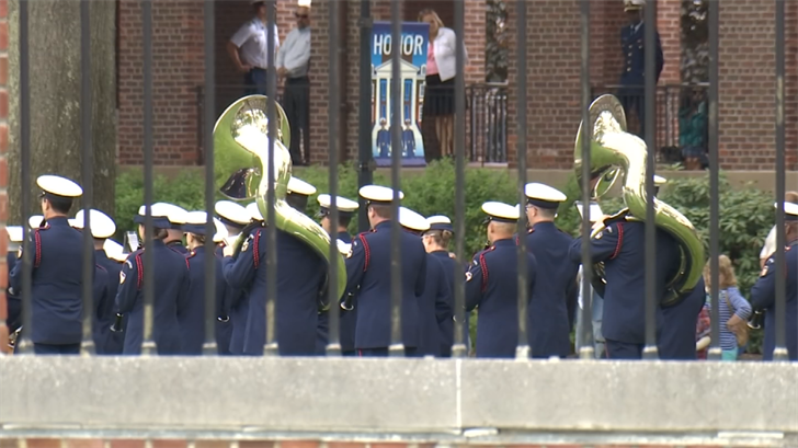 The US Coast Guard Academy is preparing for Vice President Pence's commencement speech (WFSB)
