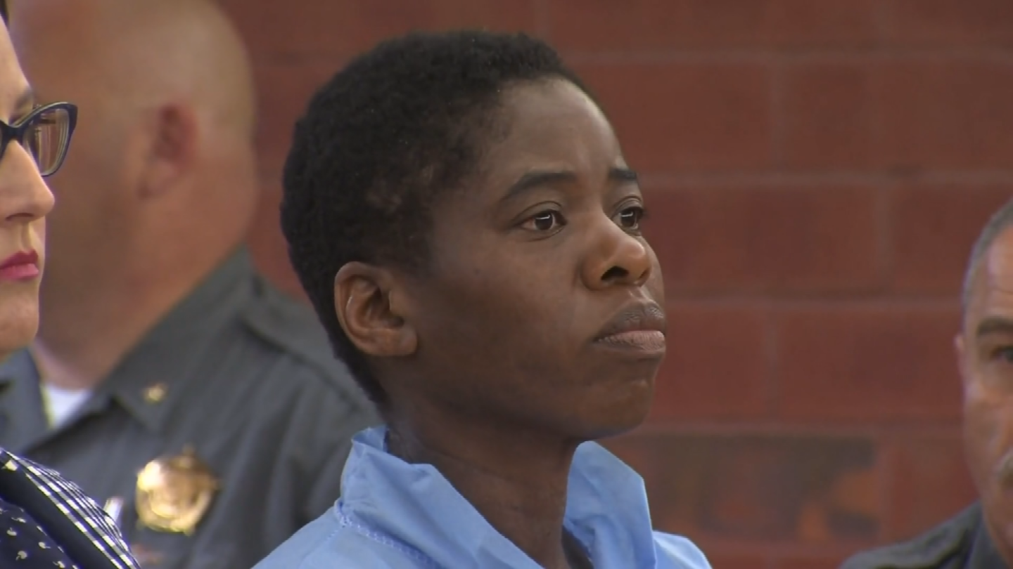 A woman is accusing Chevoughn Augustin, the woman who stabbed a Hartford officer, of attacking her one month ago (WFSB)