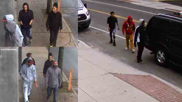 New Britain police are looking to identify these car theft suspects (New Britain Police)