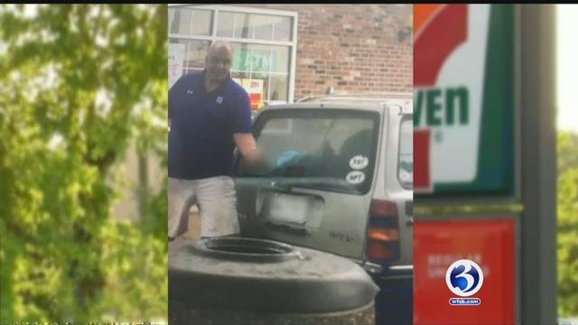 A woman says a man yelled racial slurs at her at a Glastonbury gas station (Submitted)
