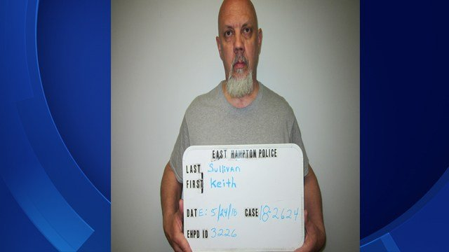 Keith Sullivan was arrested by East Hampton Police for sexual assault of a juvenile (East Hampton Police)