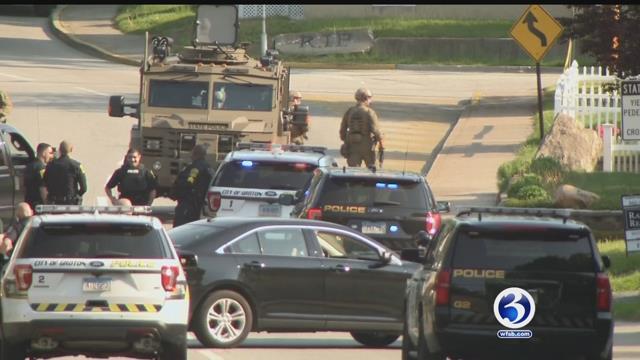 Video: Suspect in custody following standoff in Groton