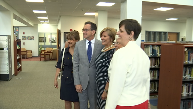Governor Malloy launches a new program to help veterans become teachers (WFSB)