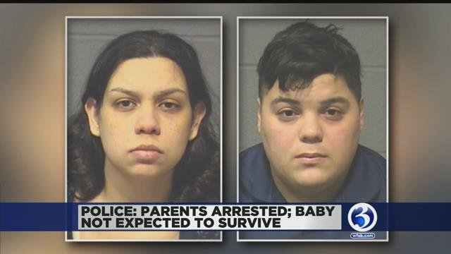 Video: Baby suffers non-survivable injuries; parents arrested