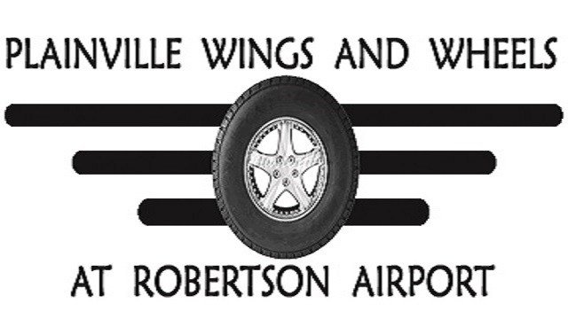 Plainville Wings and Wheels proudly presents their 7th annual Fly-in and Car Show on June 9th, 2018 from 10:00AM-3PM at Robertson Airport 62 Johnson Ave, Plainville, CT with a rain date of June 10th.