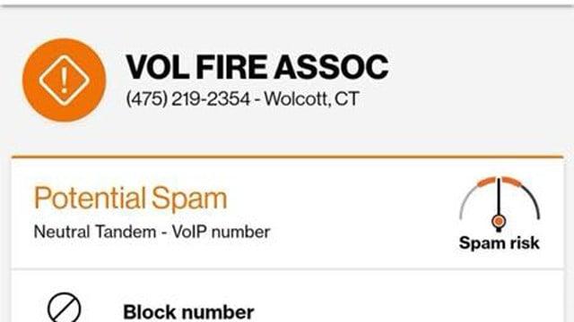 Clinton Volunteer FD is warning residents of a phone scam (Clinton Volunteer Fire Department Facebook)