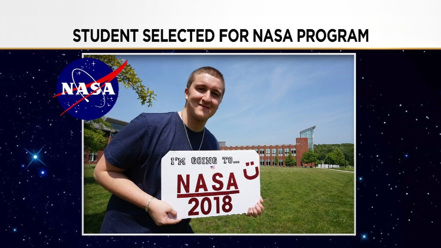George Simones is headed to NASA (Submitted)