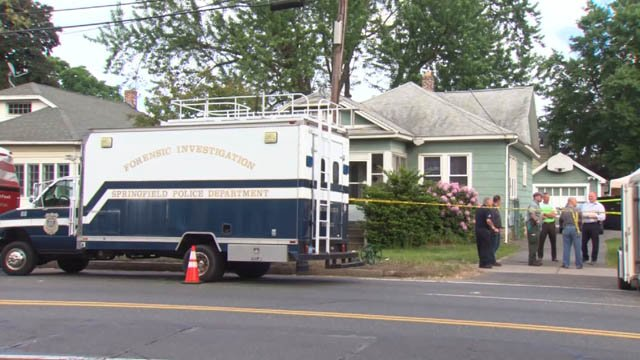 Three bodies were found at a home on Page Boulevard in Springfield, MA last week. (WFSB)