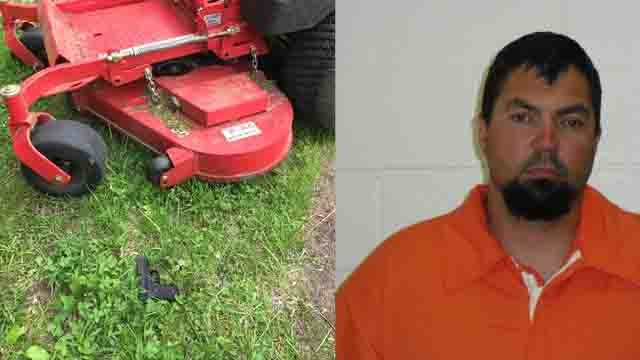 A landscaper found a gun Daniel Ballard tossed out a car window (Keepers Lawn & Garden LLC/State Police)