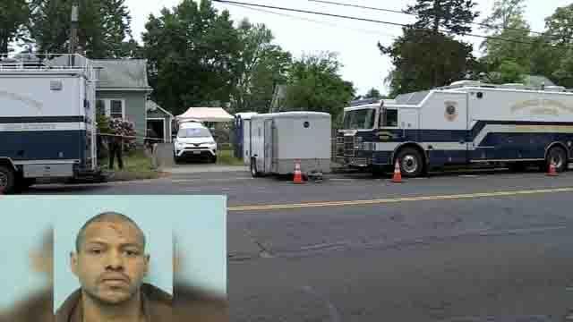 Stewart Weldon lives at the home where three bodies were found (WFSB/Springfield Police)