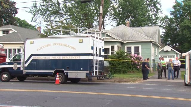 Three bodies were found at a home on Page Boulevard in Springfield, MA this week. (WFSB)