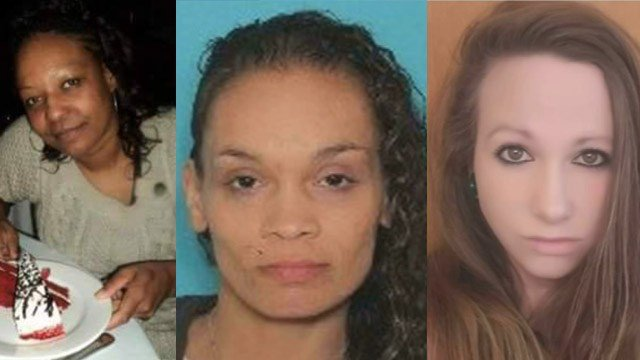Ernestine Ryans, America Lyden and Kayla Escalante were identified as the victims whose bodies were found on a property in Springfield, MA. (Family/Springfield police/Facebook)