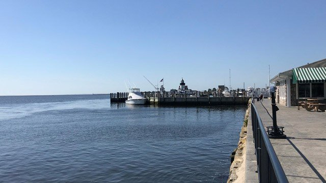 A body was recovered from Long Island Sound just off the coast of Old Saybrook on Tuesday morning. (WFSB)