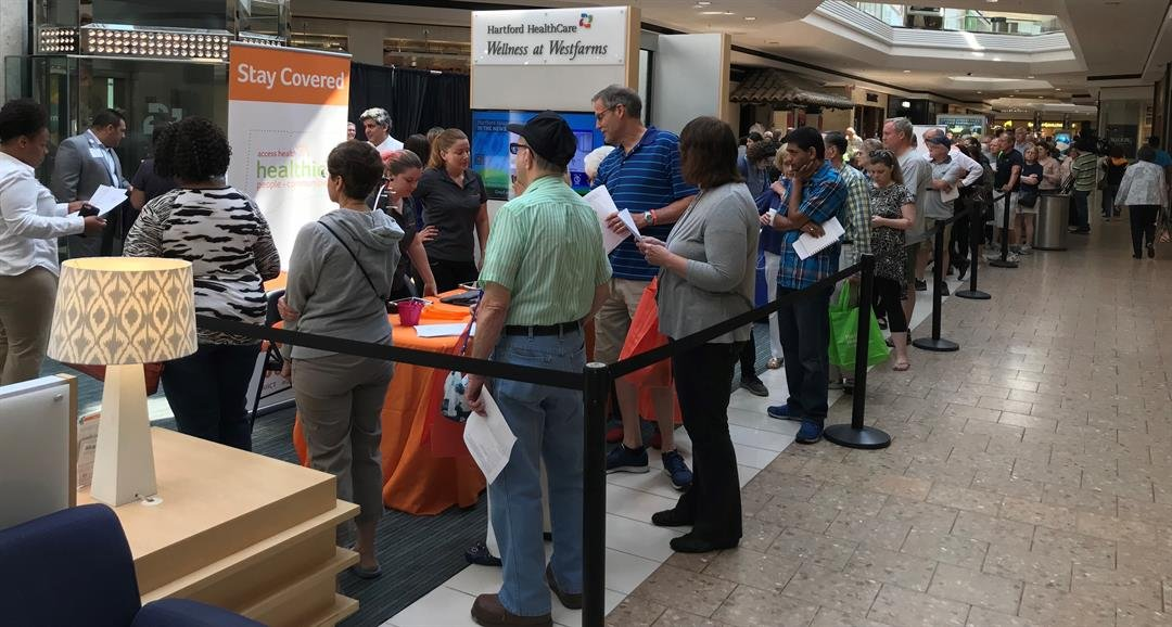 224 patients visited the skin cancer prevention event at West Farms Mall (WFSB)
