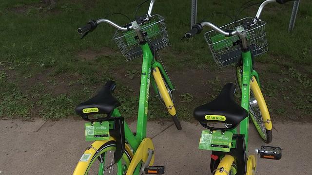 Hartford residents react to new bike sharing program (WFSB)