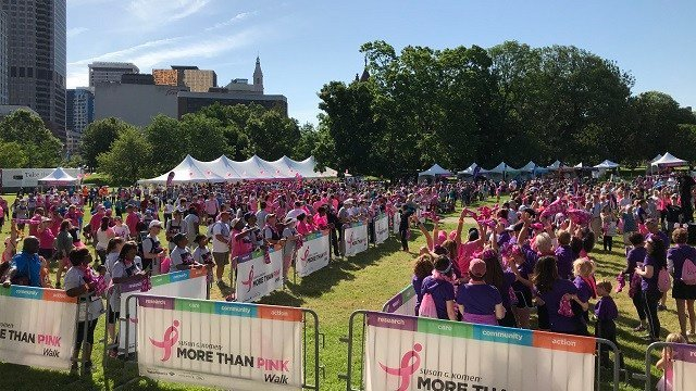 The walk takes place at Bushnell Park in Hartford (WFSB)