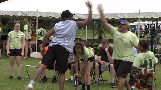 It took hundreds of volunteers and more than 300 coaches to pull this event off, and of course, sponsors. (WFSB)