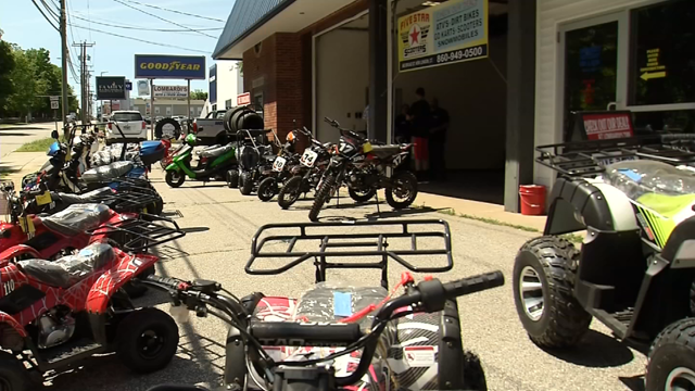 New London is looking to crack down on illegal dirt bike and ATV riders (WFSB)