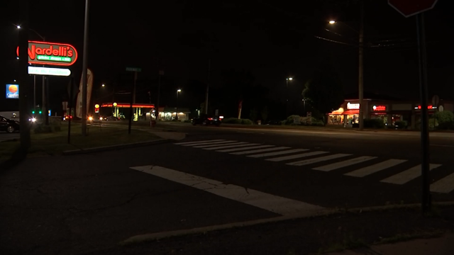 A person has minor injuries after a hit-and-run on East Main Street in Meriden (WFSB)