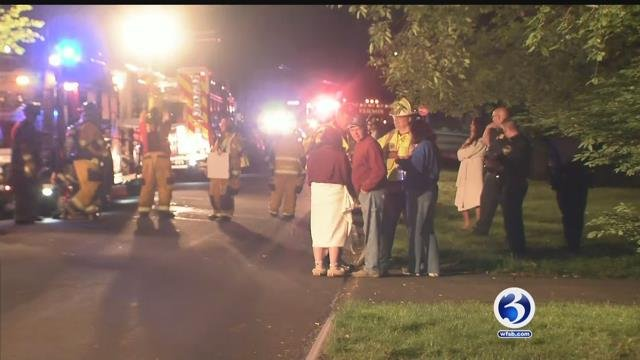 Vernon firefighters have knocked down a fire Friday morning at a home on Willow Stream Drive (WFSB)