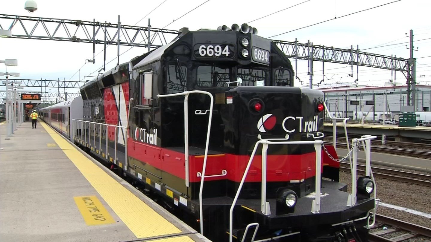 The Hartford Line opens to the public this weekend. (WFSB)