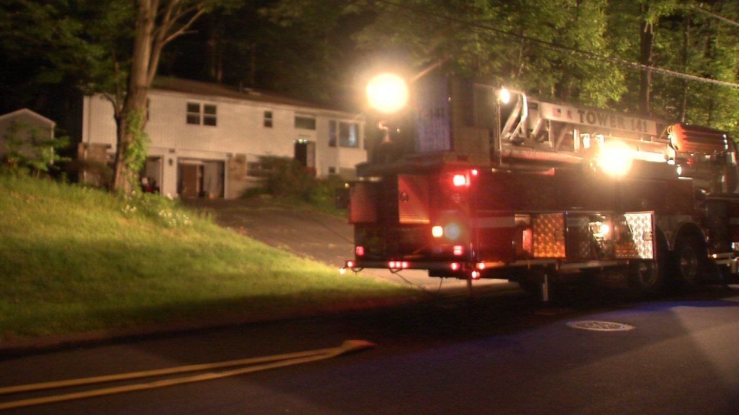 A smoke detector is being credited with alerting and saving a woman from a house fire in Vernon on Friday morning. (WFSB)