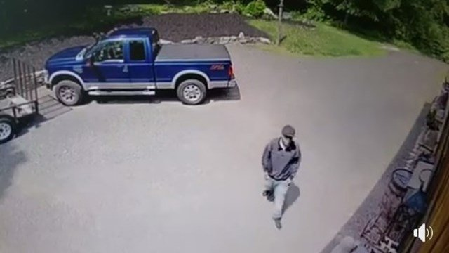 State Police are attempting to identify this man who was involved in a suspicious incident in Haddam (CT State Police)