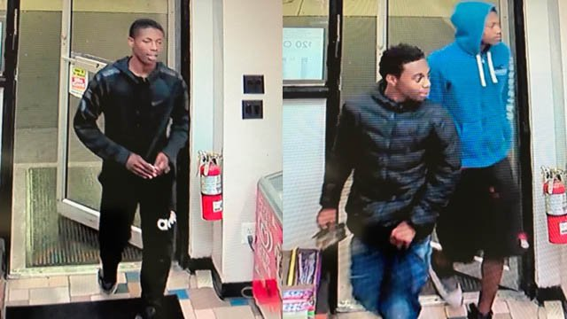 Police say these men were involved in recent car thefts (Clinton police)