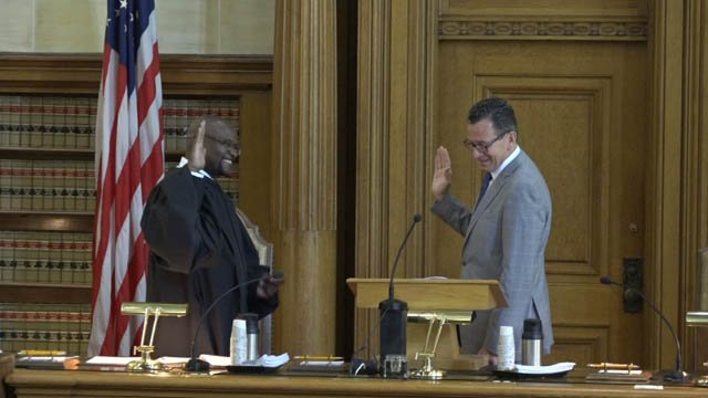 Richard Robinson will serve as chief justice of the state's Supreme Court. (WFSB)