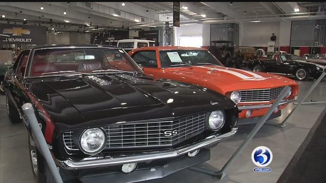 VIDEO: Barrett-Jackson auto auction opens Wednesday at Mohegan Sun