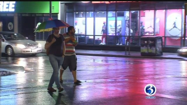 VIDEO: Residents saw high temps, scattered thunderstorms