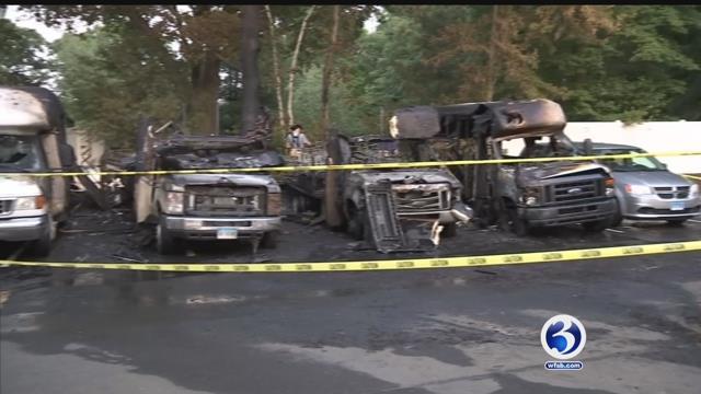 VIDEO: Goodwill blames hot mulch for van fires