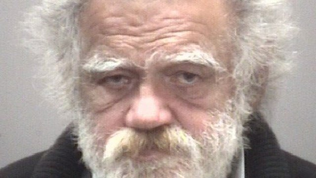 Robert DiNuzzo is accused of setting 30 fires around the New Haven green since April, police said. (New Haven police)