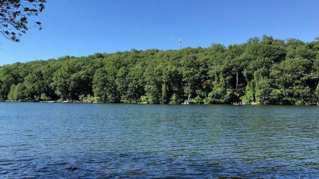 A swimmer was taken to the hospital after an accident on Candlewood Lake (WFSB)