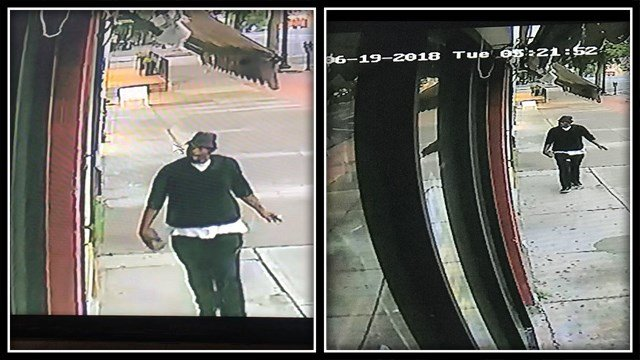 Police are searching for this suspect who may be connected to 3 burglaries in town (Middletown PD)