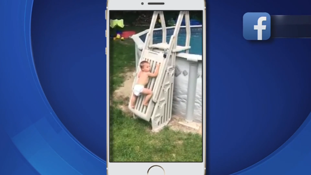A viral video of a child climbing a pool gate has people discussing pool safety (Facebook)