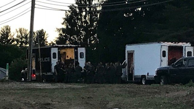 SWAT team was at a home in Southington on Tuesday evening (WFSB)