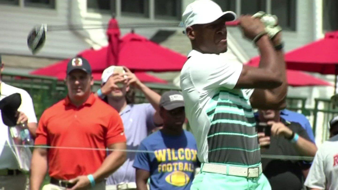 Ray Allen at the 2017 Travelers Championship celebrity pro-am. (WFSB file)