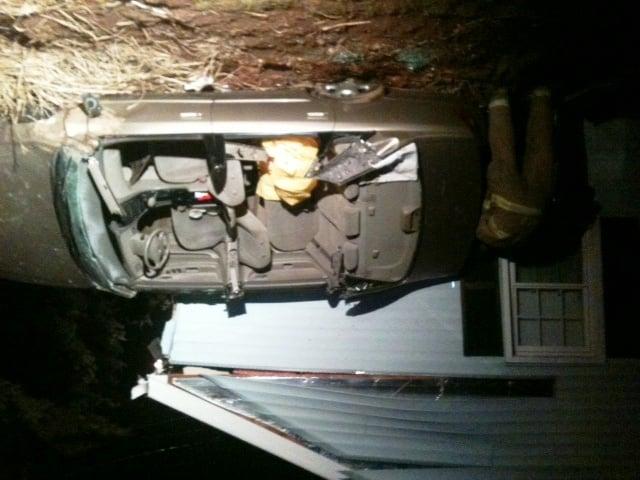 Fairfield News Car Crashes Into House