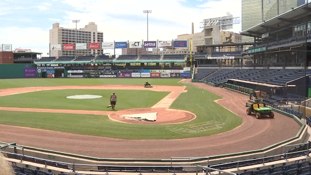 Dunkin' Donuts Park was voted the best minor league park in the country (WFSB)